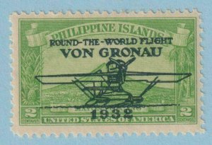 UNITED STATES - PHILIPPINES C29 AIRMAIL  MINT NEVER HINGED OG ** VERY FINE!