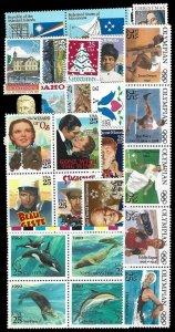 1990 Commemoratives Year Set (2348//2515) 26var., MNH