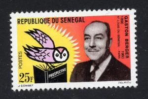 Senegal    #227  1963  MH  Prof Gaston Berger