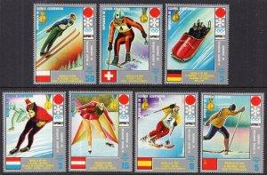 Equatorial Guinea 7212-7219 Winter Olympics MNH VF