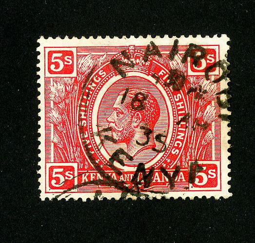 KUT Stamps # 34 XF Used Scott Value $27.50
