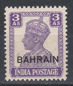 BAHRAIN 1942 KGVI 3A