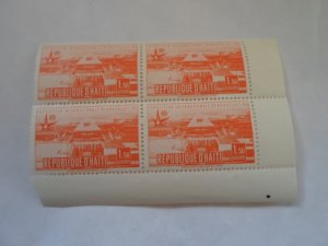 HAITI STAMPS FINE CON. BLOCK OF 4 STAMPS MNH # 29