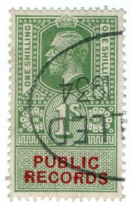 (I.B) George V Revenue : Public Records 1/-
