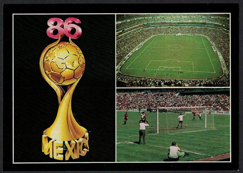 Mexico World Cup Football Championship Mexico Postcard