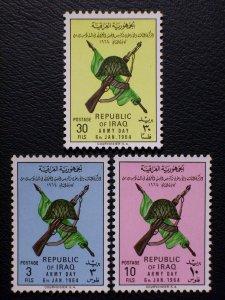 Iraq Scott #339-341 unused