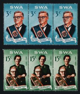 South West Africa 312-3 MNH Charles Roberts Swart