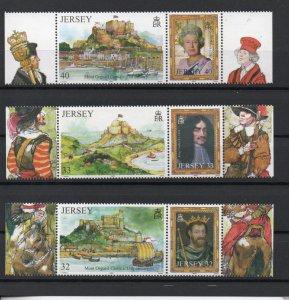 Jersey 1131-1133 MNH .