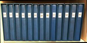 COMPLETE SET 13 VOLUME LINDER HINGELESS UNITED STATES HINGELESS ALBUMS SLIPCASES