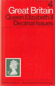 Stanley Gibbons Great Britain, Vol 4, 2nd Edition: QEII Decimal Issues