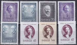 Sweden #878-85  F-VF Unused CV $5.05  (Z6224)