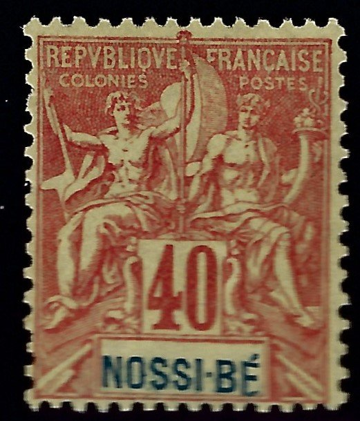 Nossi Be Sc #41 Mint F-VF...French Colonies are in Demand!