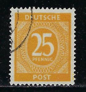 Germany AM Post Scott # 546, used