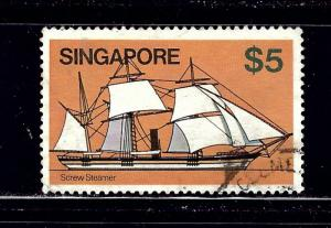 Singapore 347 Used 1980 Sailing Ship