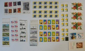 US Booklet Pane Lot of 11 – All MNH FV 54.00