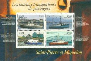 SAINT PIERRE & MIQUELON 850  SCV $7.00 BIN $3.50