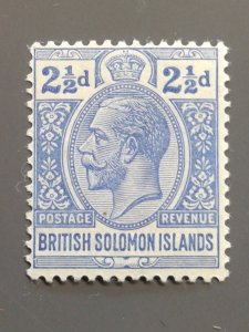 Solomon Islands 31 F-VF MLH. Scott $ 5.00