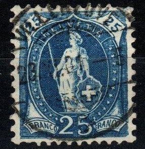 Switzerland #94 F-VF Used CV $6.25 (X1421)