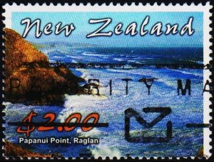 New Zealand. 2002 $2 S.G.2515 Fine Used