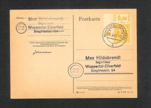 Germany American British zone Michel 20I variety used c510