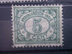 NETHERLANDS INDIES, 1922, used 5c, Scott 113