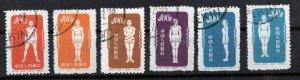 CHINA- STAMPS,1952 Radio Gymnastics - Very Thin Transparent Paper