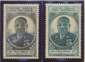 Somali Coast (Djibouti) Stamps Scott #238 To 239, Mint Never Hinged - Free U....