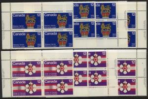 Canada USC #735-736 Mint MS VF-NH Cat. $12. 1977Gov.G & 12c Order of Canada.