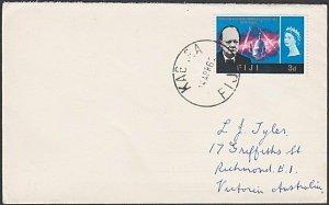 FIJI 1966 cover to Australia ex KABARA......................................R550