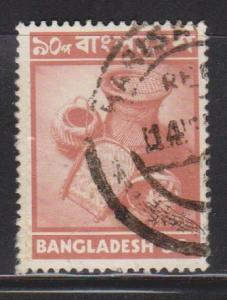 BANGLADESH Scott # 51 Used - Handicrafts