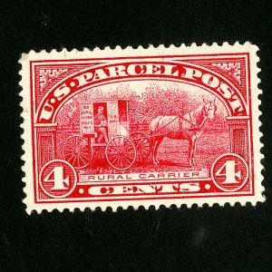 US Stamps # Q4 Superb Light Cancel