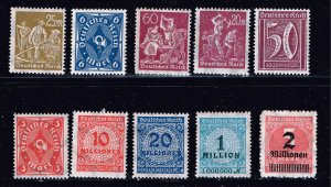 GERMANY STAMP MINT STAMP COLLECTION LOT  #M1