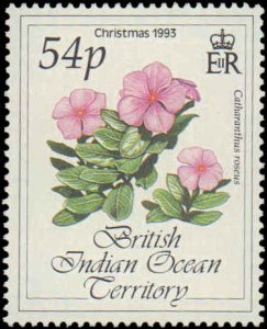 1993 British Indian Ocean Territory #141-144, Complete Set(4), Never Hinged