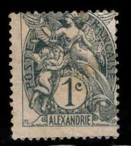 France Offices in Egypt Alexandria Scott 16 Mint No Gum