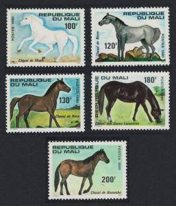 Mali Horses 5v SG#759-763