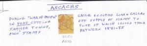 ANCACHS #1N10 USED CAT $37.50 AT A LOW PRICE