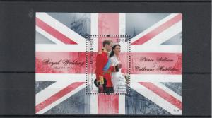 Micronesia Royalty Stamps 2011 MNH Royal Wedding Prince William & Kate 1v S/S
