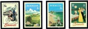 Bermuda 644-47 MNH 1993 Tourism    (ap1884)