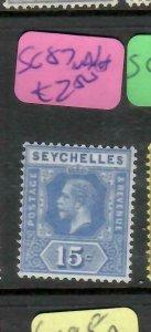 SEYCHELLES  (P2705B)   KGV  15C  SG  87A   MNH