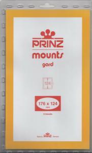 PRINZ BLACK MOUNTS 176X124 (6) RETAIL PRICE $10.50