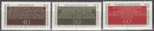 Germany #1358-60 MNH  (S7002)