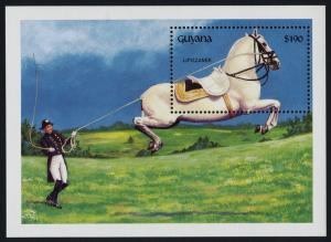 Guyana 2580 MNH Lipizzaner Horse