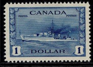 CANADA GVI SG388, $1 blue, M MINT. Cat £50.