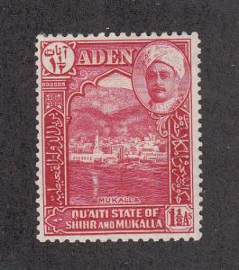 Aden State of Shihr/Mukalla Scott #4 MH