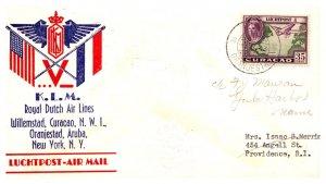 Netherlands Antilles, First Flight