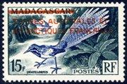 Scott #1 Madagascar overprint MNH