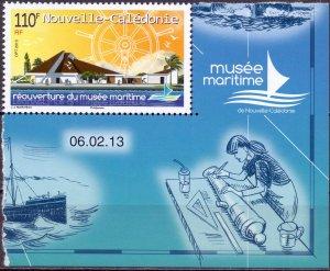 New Caledonia. 2013. Museum. MNH.
