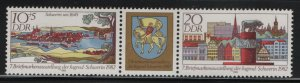 DDR, 2281A, MNH, 1982, VIEW OF SCHWERIN