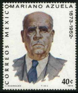 MEXICO 1061, 40¢ Mariano Azuela, writer. MINT, NH. VF.