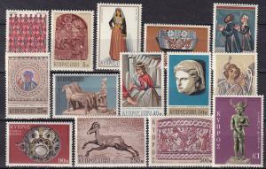 Cyprus #351-64 MNH   CV $12.75  (A19916)